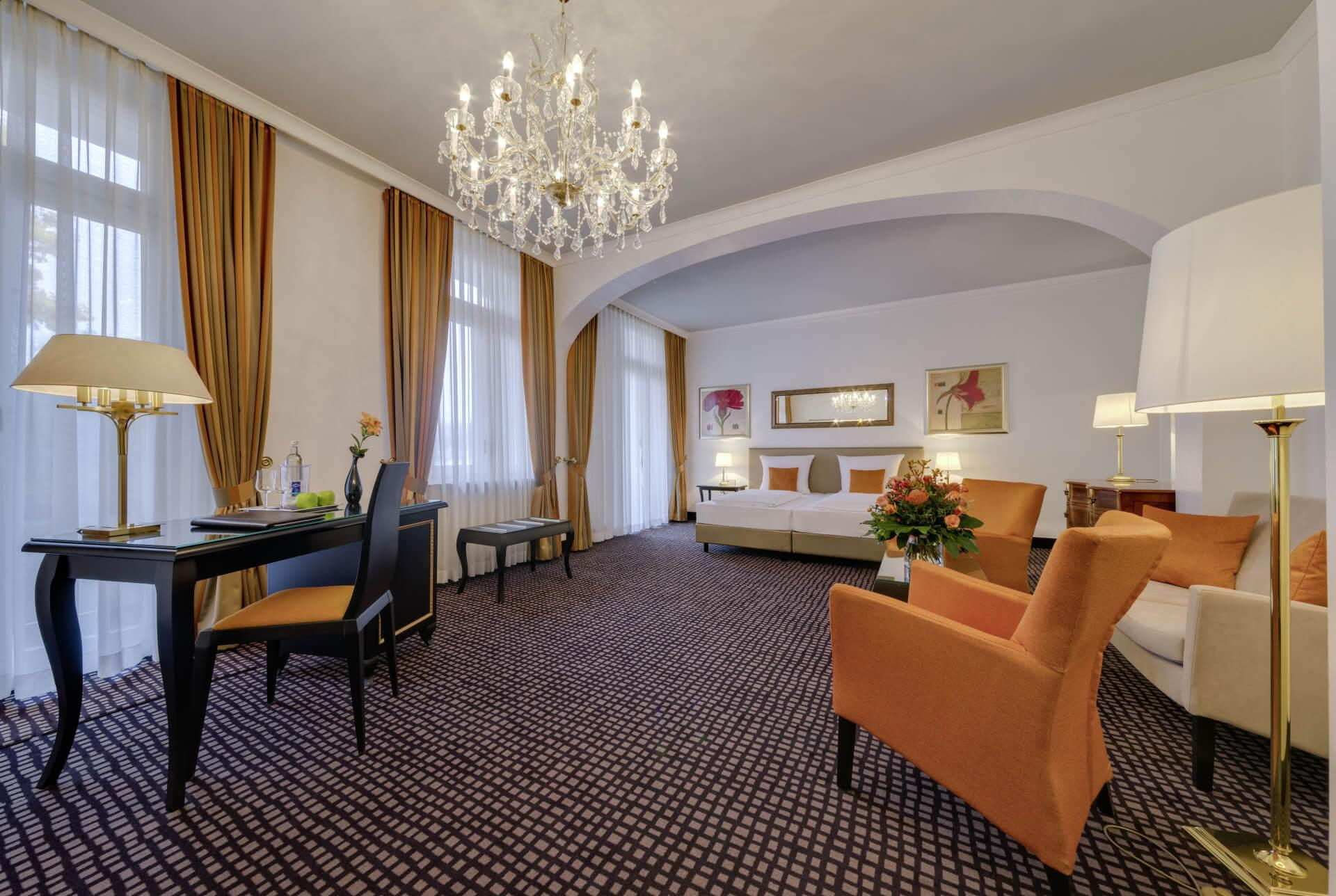 Junior Suite Baden-Baden, Junior Suite – Parkseite, Hotel am Sophienpark
